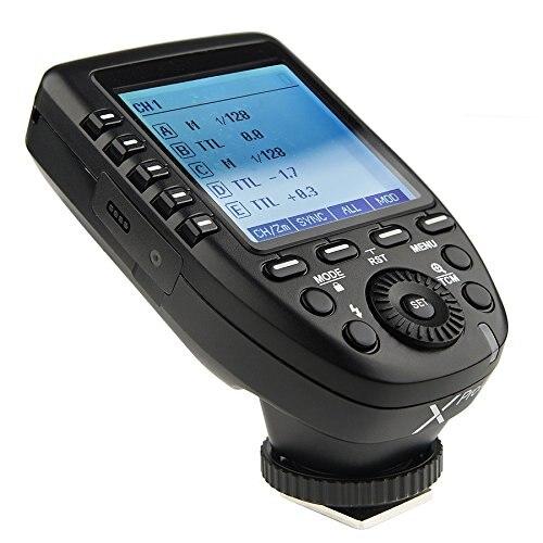 Godox Xpro-C TTL disparador de Flash inalámbrico para Canon 1/8000 s HSS TTL-convertir-Manual función gran diseño de pantalla inclinada