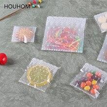 Pochettes Cellophane violoncelle transparentes 100 pièces   Sacs en plastique auto-adhésifs, emballage de bonbons, sachet refermable pour emballage de cookies, pochette demballage