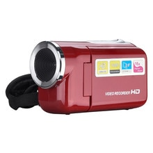 Digital Camcorder Handheld Home Digital Video CameraHD 720P Handheld 16 Million Pixels  LED Flash 4x