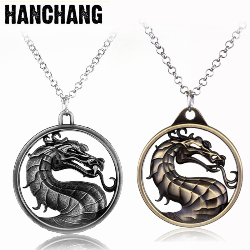 Фото - Mortal Kombat Necklace Fighting Game Dragon Jane Empire Pendant Necklace Vintage Jewelry Collier For Game Fans Gift natalie yacobson swan and dragon dragon empire