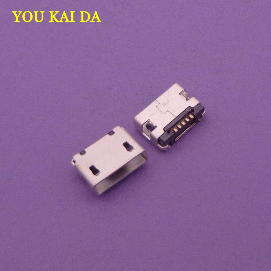 300 pcs Novo Para HP SLATE 7 HD, SLATE 10 HD Micro mini USB DC Cobrando Conector de Porta de Soquete