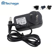 Techage 12V 1A güç kaynağı AC 100-240V güç adaptörü duvar şarj cihazı DC 5.5mm x 2.1mm ab/AU/İngiltere/abd Plug güvenlik kapalı devre kameralar
