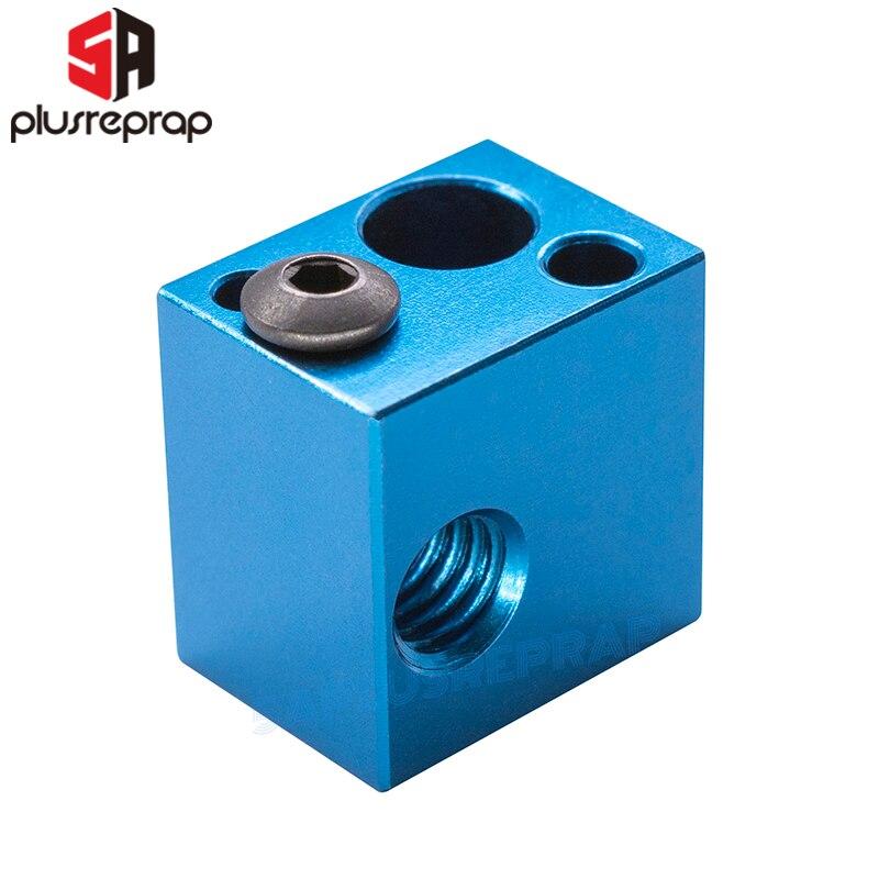 3D-принтер, алюминиевый блок 16*16*12 мм для термистора, термопара V5, V6, J-head, Hotend, экструдер