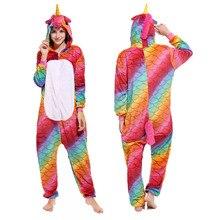 2020 nouveau adulte femmes Pyjamas licorne Pyjamas animaux Pyjamas ensembles Pijamas Kigurumi vêtements de nuit Panda Koala Pikachu