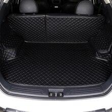 HLFNTF مخصص سيارة فرش داخلي للسيارات والشاحنات لسيارات BMW F10 F11 F15 F16 F20 F25 F30 F34 E60 E70 E90 1 3 4 5 7 GT X1 X3 X4 X5 X6 Z4 الجذع الوسادة