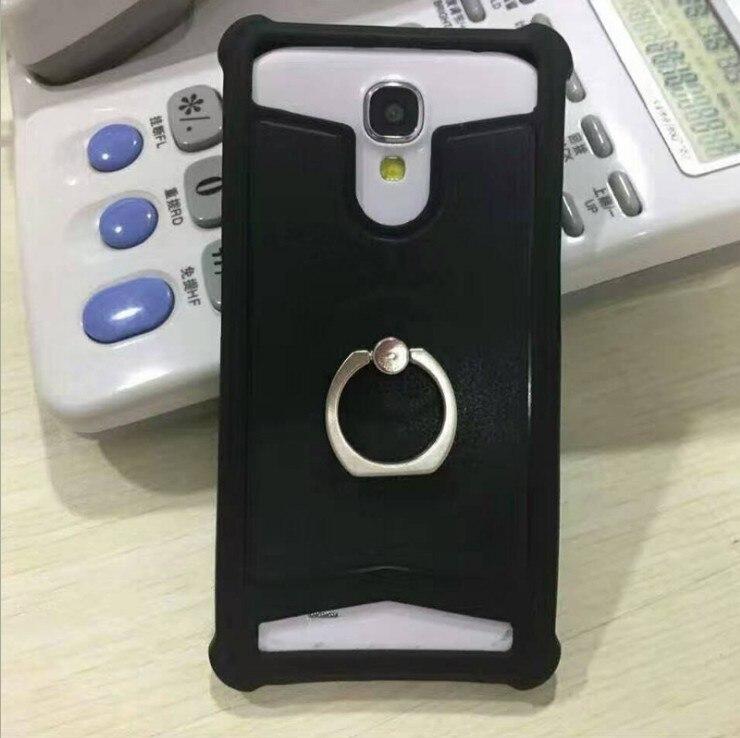 Yooyour Universal funda trasera de cuero PU suave de la caja del teléfono de silicona para Prestigio zabio PX3 N3 P3 E3 D3 Muze A5 K5 D3 C3 #2