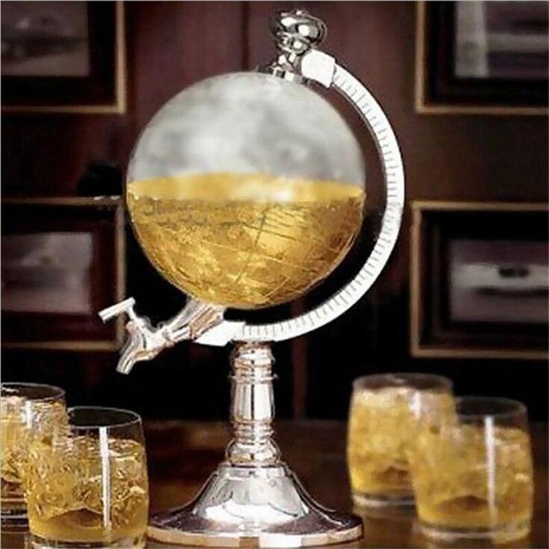 1000cc Novelty Globe Shaped Party Beer Machine Drink Wine Beer Water Dispenser Beer Barrels Bar Beverage Liquor Drink Dispenser