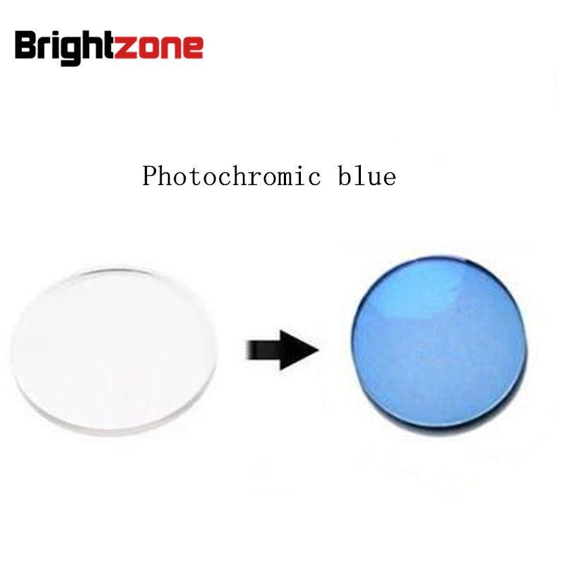 Rx lentilles 1.56 bleu photochromique HMC UV AR CR39   Superbes lentilles de prescription uniquement pour la myopie/astigmatisme