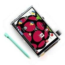 3.5 pouces 26P SPI TFT LCD écran daffichage avec écran tactile 320*480 pour RPi4B/RPi2/framboise pi3 Board V3 (système framboise de soutien)