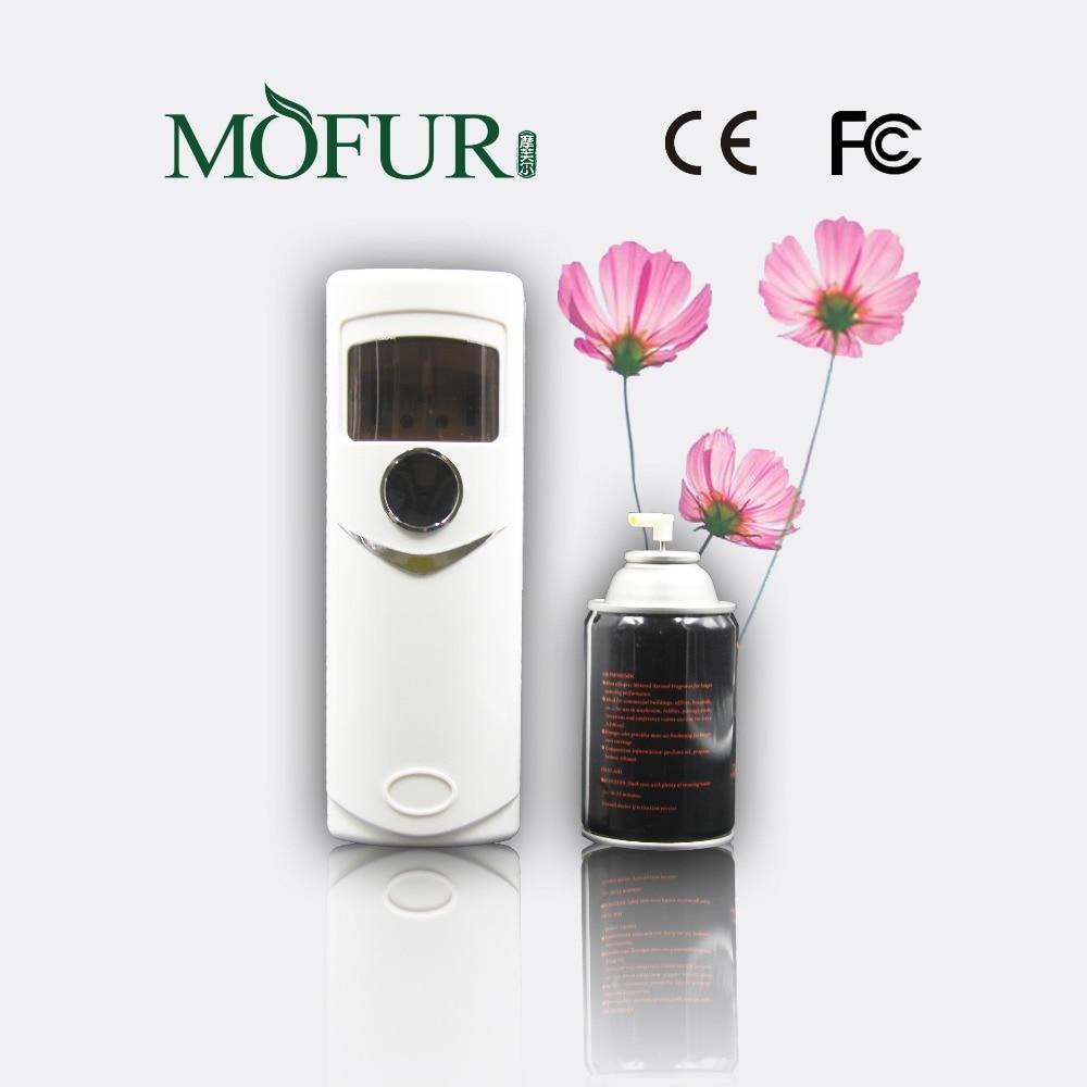 hotsales new design light sensor aerosol dispenser auto air freshener air purifier hotel bathroom toilet spray