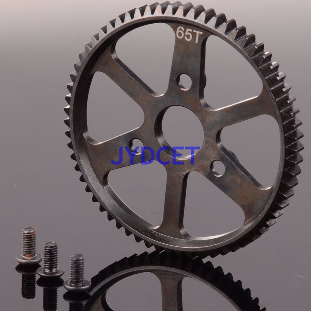SSUM065T Stahl 65T Spur Wichtigsten Getriebe Für RC 1/10 Modell SUMMIT & E-REVO RC 5603 5605 5608 5607