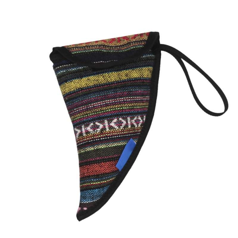 Nacional de viento instrumento resistente al agua Ocarina de algodón bolsa de estilo étnico Durable de cuerno de buey bolsa de forma