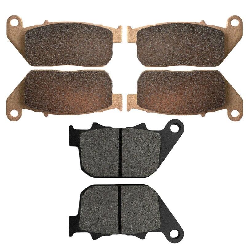 Motocyklowe przednie i tylne klocki hamulcowe dla XL 883 R XL883R Sportster R 2005-2014 czarny tarcza hamulcowa Pad