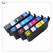 4 renk uyumlu Epson T200 XL mürekkep kartuşu Expression ev XP200 XP300 XP310 XP400 XP410 yazıcı kartuşu