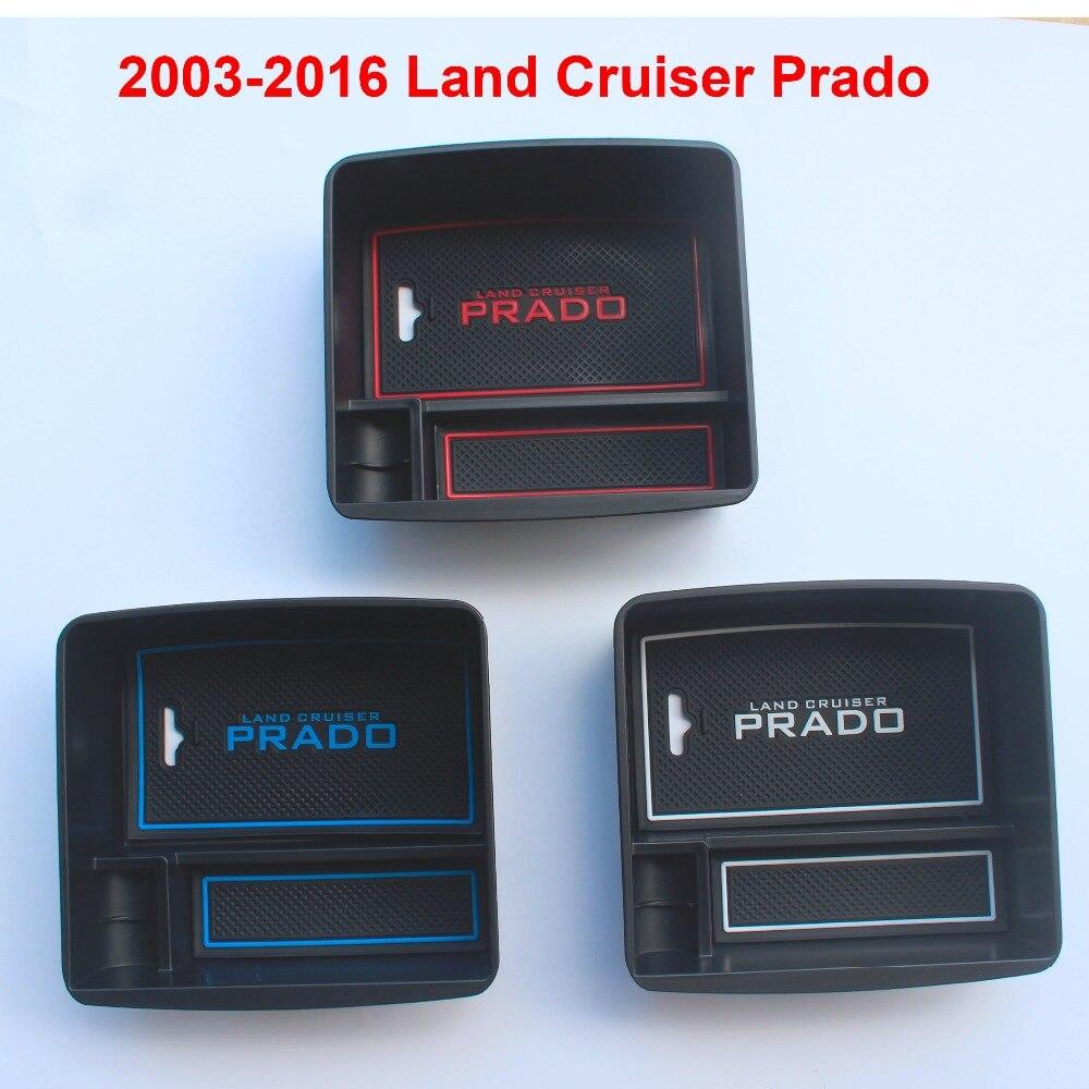 2003-2016 Автомобильный интерьер холодильник коробка для хранения для Toyota Land Cruiser Prado FJ 150 аксессуары