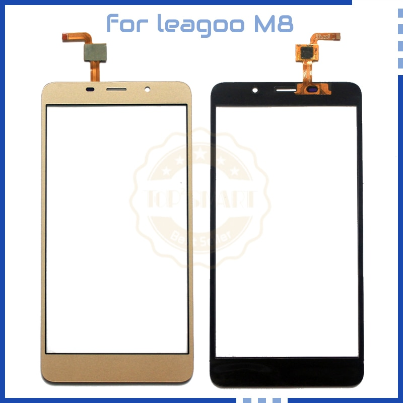 "5.7"" inch For leagoo M8 Gold Touch Sensor with Digitizer panel repari parts for leagoo M8 TouchScreen"