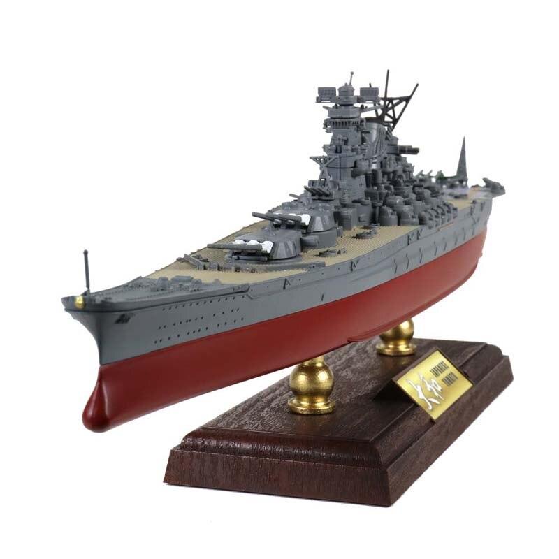 FOV 1/700 escala militar modelo juguetes japonés YAMATO acorazado acero fundido Metal Warship modelo de juguete para la colección, regalo
