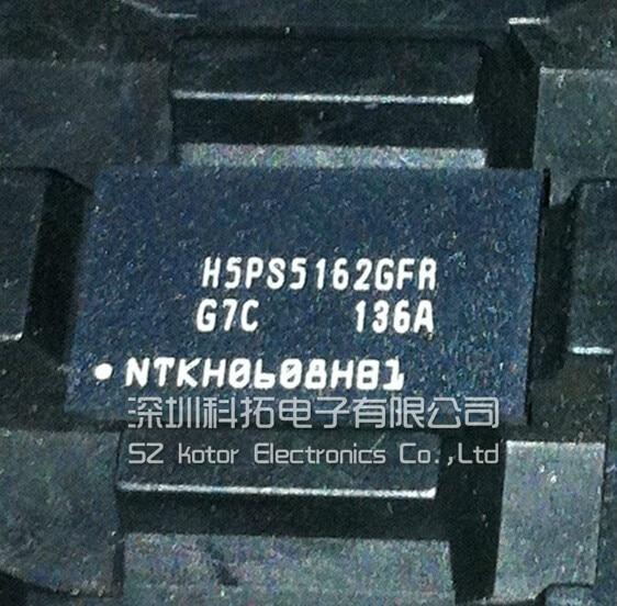 5 pçs/lote H5PS5162GFR-G7C H5PS5162GFR BGA Em Estoque