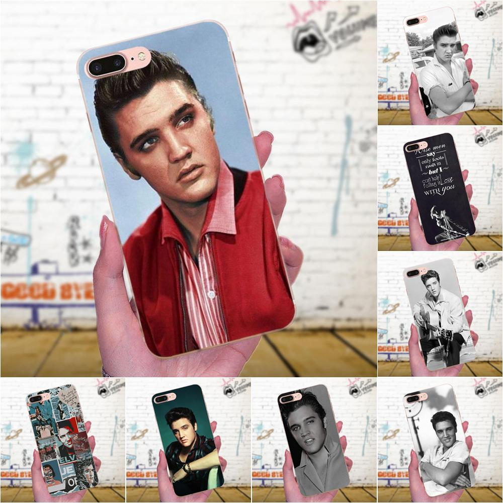 TPU llamada caja de Elvis Presley beso para Xiaomi mi 3 mi 4 mi 4C mi 4i mi 5 mi 5S 5X 6 6X 8 SE A1 Max mi x 2 Note 3 4