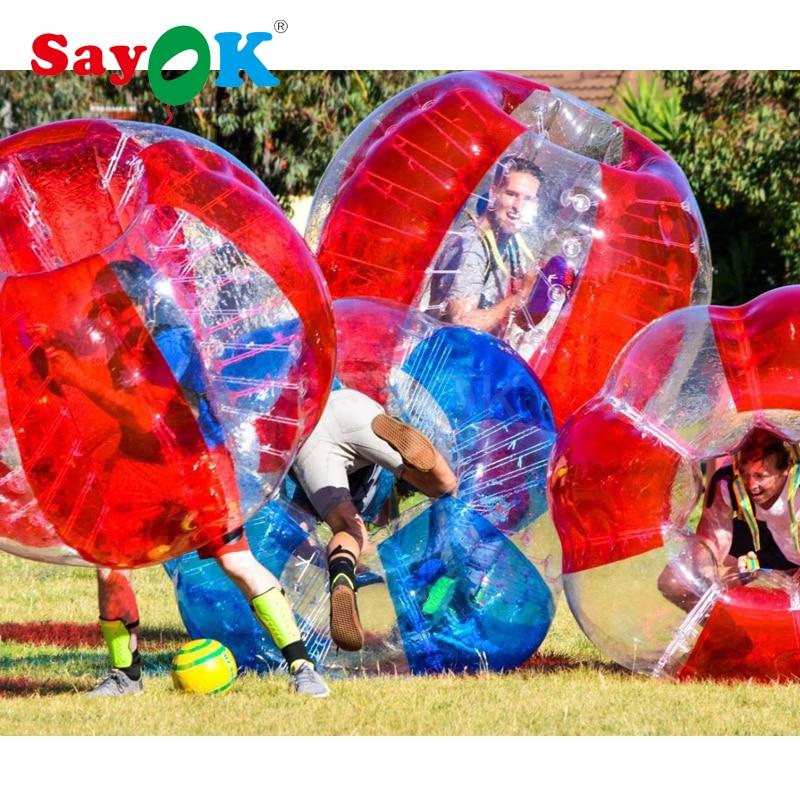 1,5 m inflable pelota de choque burbuja para fútbol de PVC de 0,8mm inflable bola inflable del Zorb fúbol, Burbuja, Fútbol para la venta