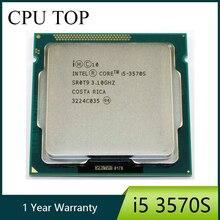 Intel Core i5 3570S Prozessor Quad-Core 3,1 GHz L3 = 6M 65W Sockel LGA 1155 desktop CPU arbeits 100%