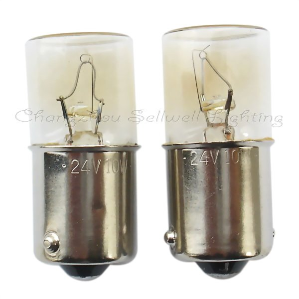 24v 10w Ba15s T16x36 New!miniature Lamp Light A342