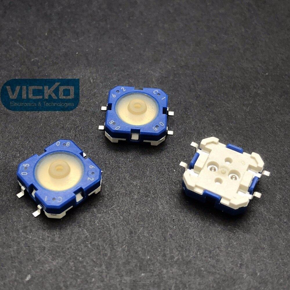 10 unids/lote Alemania RAFI 12*12*5 12*12mm SMT KONE botón 1.14.001.503/0000