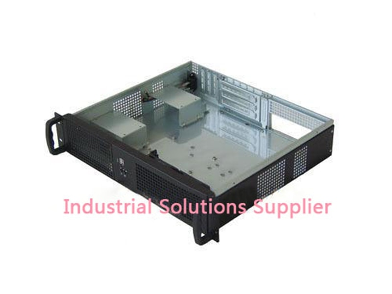 New Ultra-Short 2U Server Computer Case 2U Ultra-Short Computer Case 2U Industrial Computer Case Double Server Motherboard