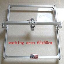 5500 mw BRICOLAGE laser machine de gravure CNC machine de découpe laser gravure zone 50x65 cm Mini Machine de Gravure Laser