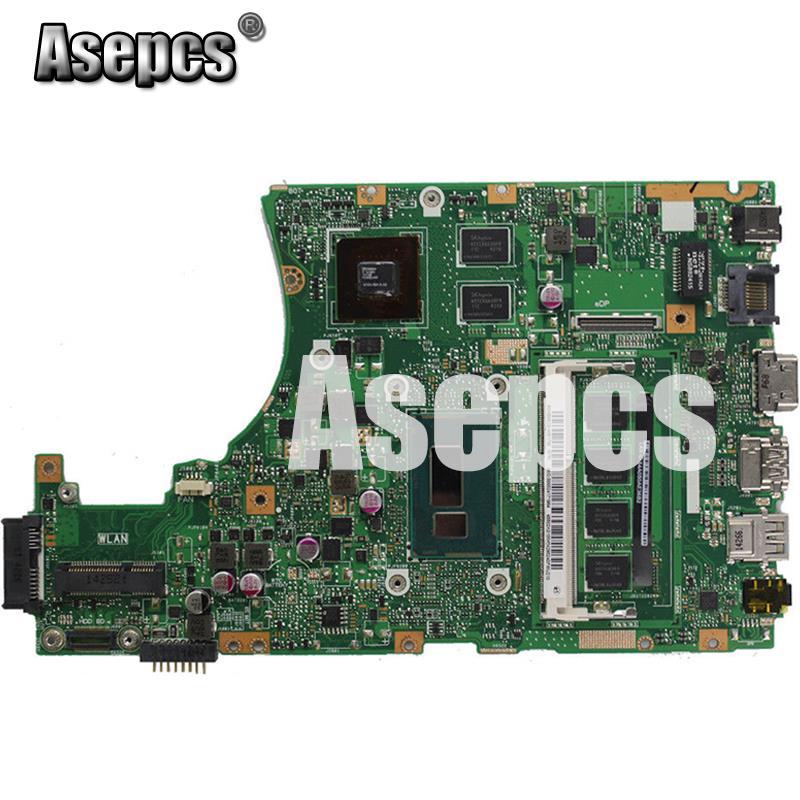 Asepcs X455LD Laptop motherboard for ASUS X455LD/J X455L X455 Y483L W419L W409L F455 Test original mainboard 4G RAM I5 CPU