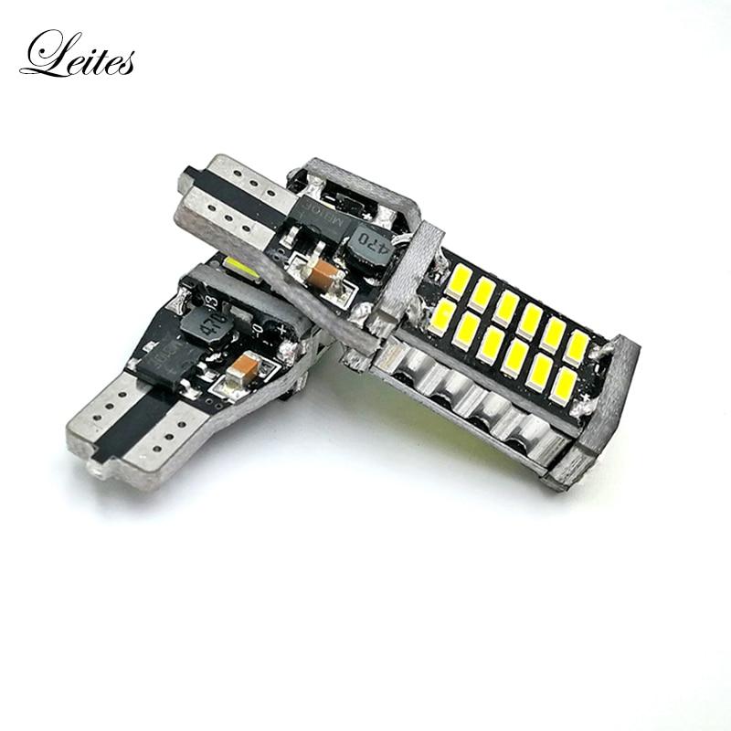 10 pces diodo emissor de luz extremamente brilhante 921 912 w16w canbus t15 4014 30smd conduziu lâmpadas para back-up luz reversa 12v 5w