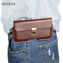 OEEKOI PU cuir ceinture Clip pochette housse étui pour gionee M7 Plus/M6S Plus/A1 Plus/M6 Plus/Marathon M5 Plus/Elife E8 6 pouces