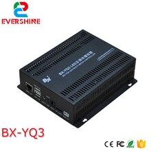 BX-YQ3 boîte denvoi couleur 1280*720 pixels LED lecteur multimédia sappliquent à toutes sortes de petites tailles LED écran couleur