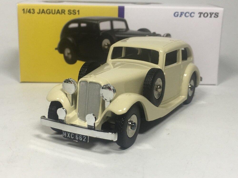 Juguetes Dinky-GFCC juguetes JAGUAR SS1 fundición modelo de coche