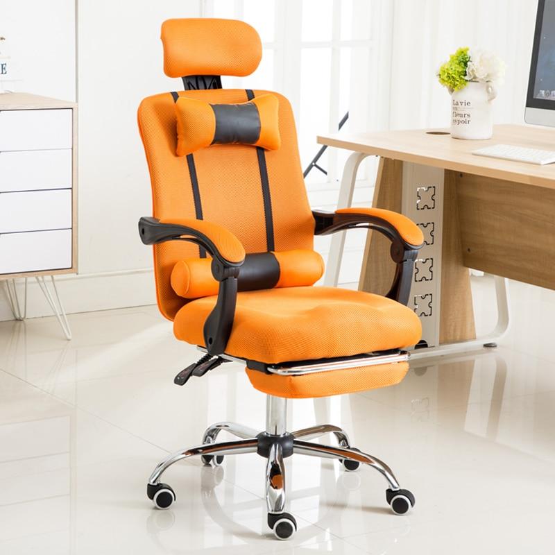 Офисный эргономичный вращающийся компьютерный стул Интернет кафе Игра LOL Racing WCG