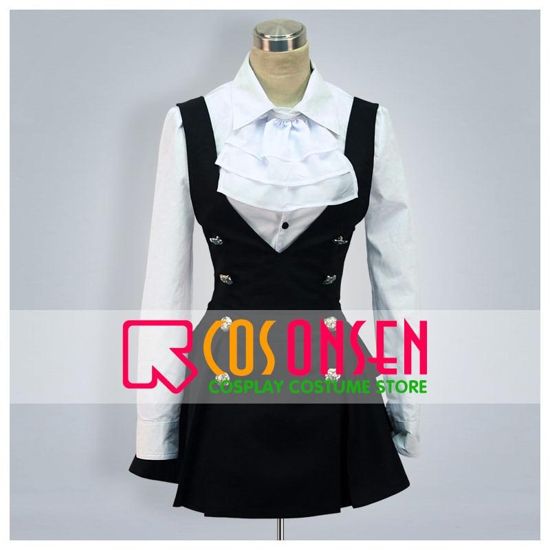 COSPLAYONSEN Inu x Boku SS Ririchiyo Shirakiin & Karuta Roromiya Uniform.Ver Cosplay Kostüm Alle Größe Nach Maß