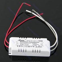 Transformateur électronique dalimentation de alimentation LED de lumière de conducteur dhalogène à ca 12 V 105 W nouveau L15