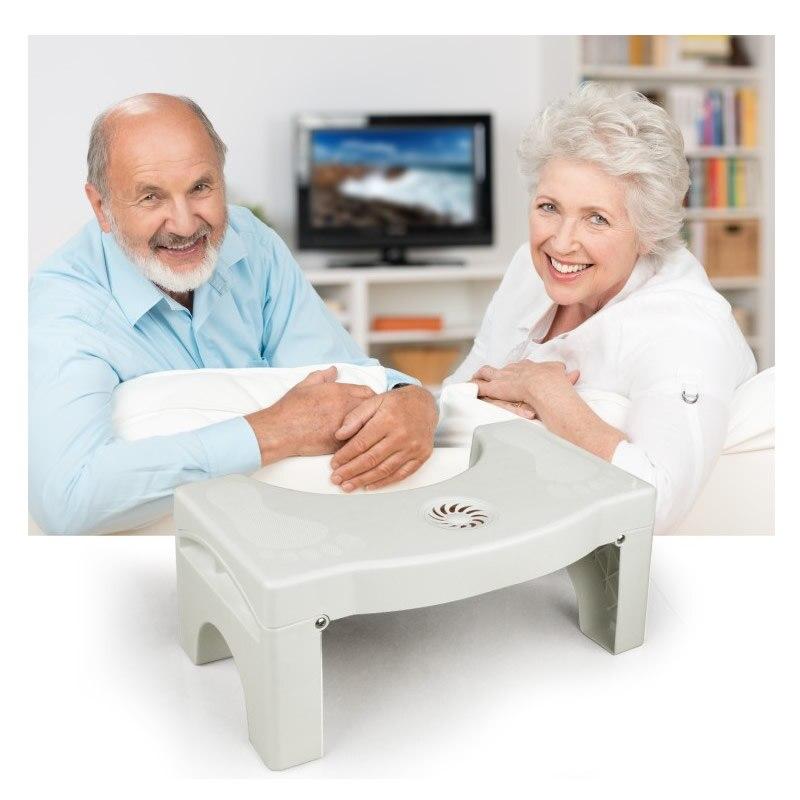 Squatty Toilet Squatty Step Stool Children Adult footstool Non Slip Potty toilet stool