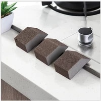 3pcs clean emery decontamination sponge dishwashing cleaning sponge artifact kitchen tool clean crevice portable mini 74 22 5