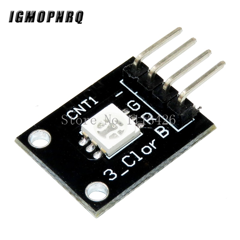 10pcs/lot RGB 3 color full color LED SMD module KY-009