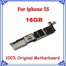Placa base original de 16GB para iphone 5S Sistema IOS sin huella digital desbloqueada placa base OEM placa lógica