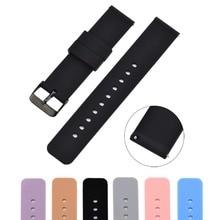 Odog 18mm Silicone bracelet de montre pour Huawei montre LG montre Style Withings Activit Withings acier HR 36mm/ Xiaomi/rapide Realse bracelet