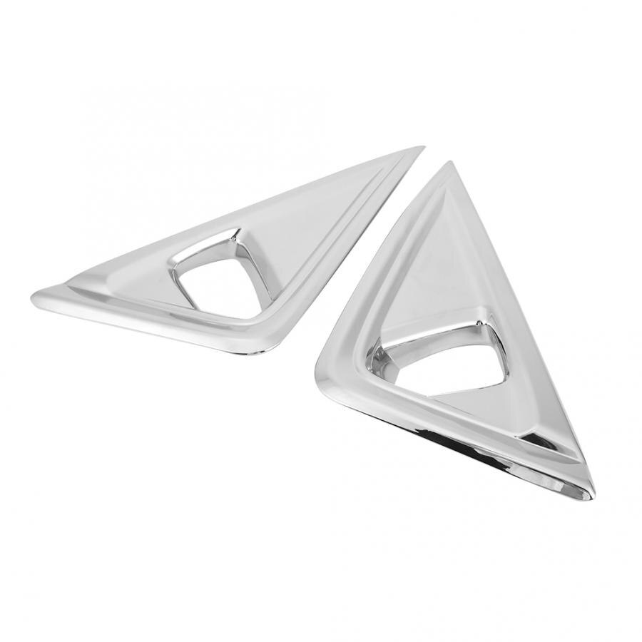 Electroplate luz antiniebla frontal marco de la lámpara se adapta a Toyota Alphard 2018 par conjunto de marco de luz antiniebla estilo Coche