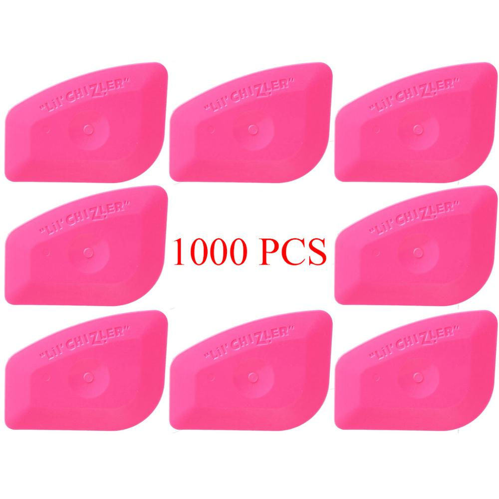 1000PCS Vinyl Wrap Film Card Squeegee Car Body Foil Wrapping PP Scraper Window Tint Tools Auto Styling Sticker Accessories A25