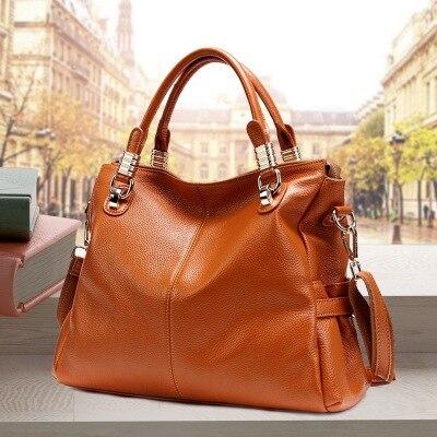 حقيبة يد نسائية من الجلد الطبيعي ، حقيبة يد فاخرة ، الأفضل في السوق ، 2P0951