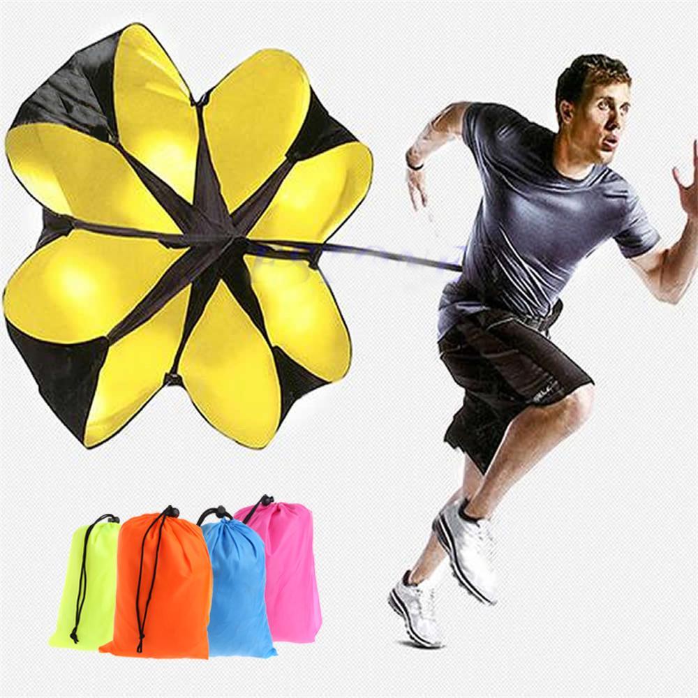 "Speed running power 56"" Sports Chute resistance exercise training parachute"