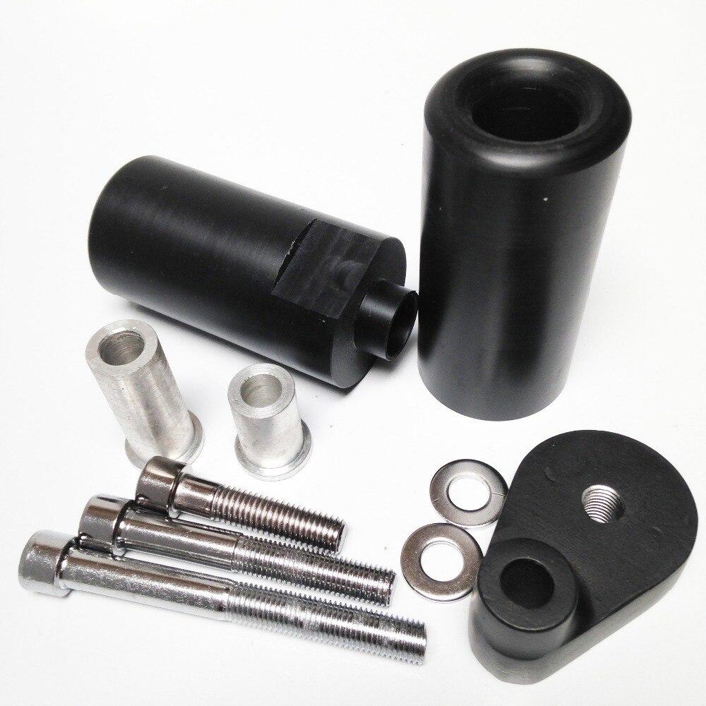 Posventa, envío gratis, Protector deslizante sin marco de corte para Yamaha YZF R6 2008 2009 YZF-R6 YZFR6 negro