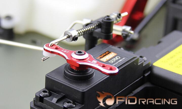 1/5 coche rc gas FID acelerador servo brazo 18 t para el equipo de Losi DBXL-e desierto buggy XL- e
