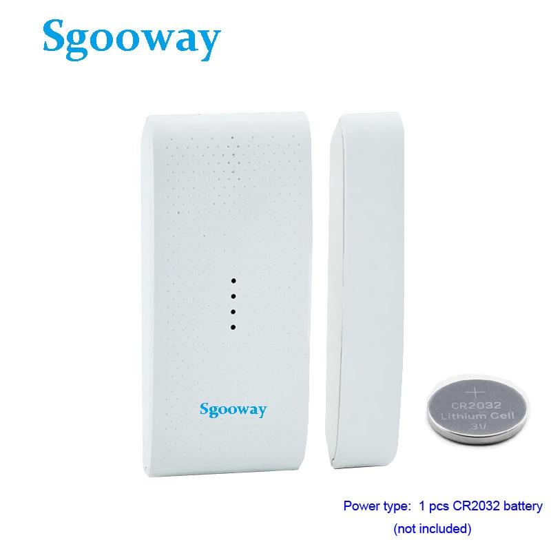 Sgooway 433MHz Wireless Window Door Magnet Sensor wireless door Detector For Home Alarm System