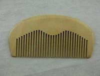 customized engraved your logo natural peach wooden comb beard comb pocket comb 11 55 51cm fh 02